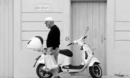 Magic vespa vita con trucchi alla moda