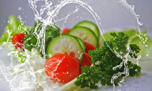 Spruzzatura di verdure: l'aspetto spiegato