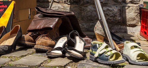 Smaltimento delle scarpe