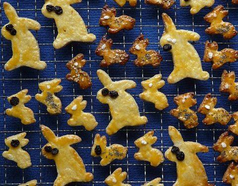 Cuocere biscotti al forno di coniglio
