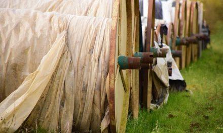 Utilizzare correttamente il pile di copertura in giardino