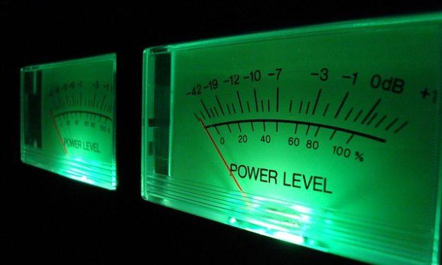 Volume meter: Note