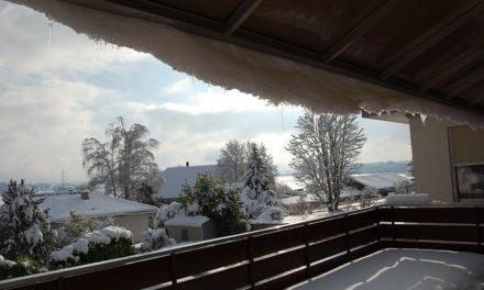 Rimozione della neve sui balconi: assistenza