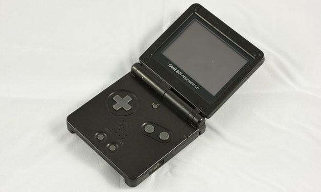 Regolazione della luminosità sul Gameboy Advance SP