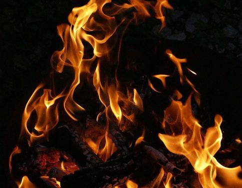 Utilizzo corretto della bacinella del fuoco