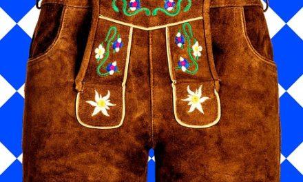 Pantaloni in pelle decorati tradizionalmente per uomo: è così che funziona