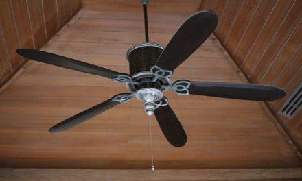 Collegamento del ventilatore a soffitto